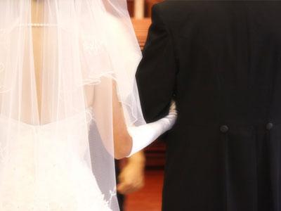 結婚式当日のイメージ画像